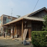 TK邸葺替工事 隅木と垂木の取替え