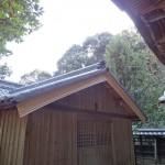 大島八幡神社(新居浜)葺替及び葺き直し