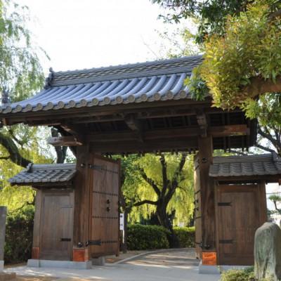 旧西條藩陣屋北御門修復工事 完成写真