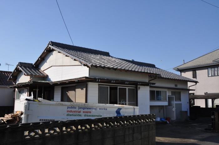 葺き替え工事(新居浜市)施工前